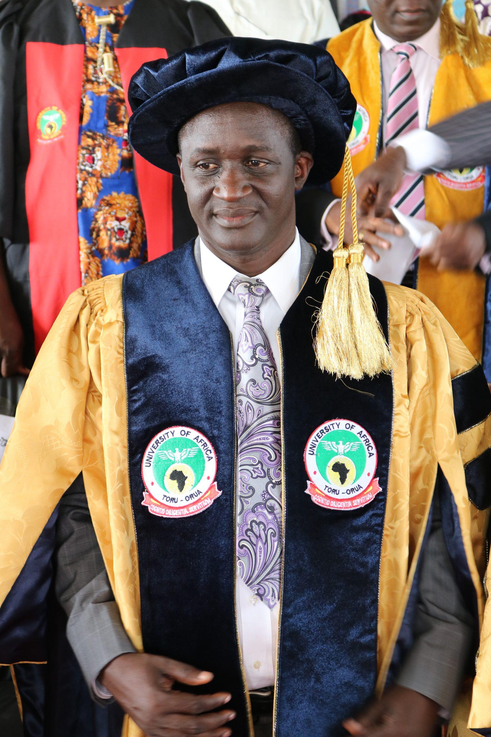 Prof. Iwekumo E. Agbozu